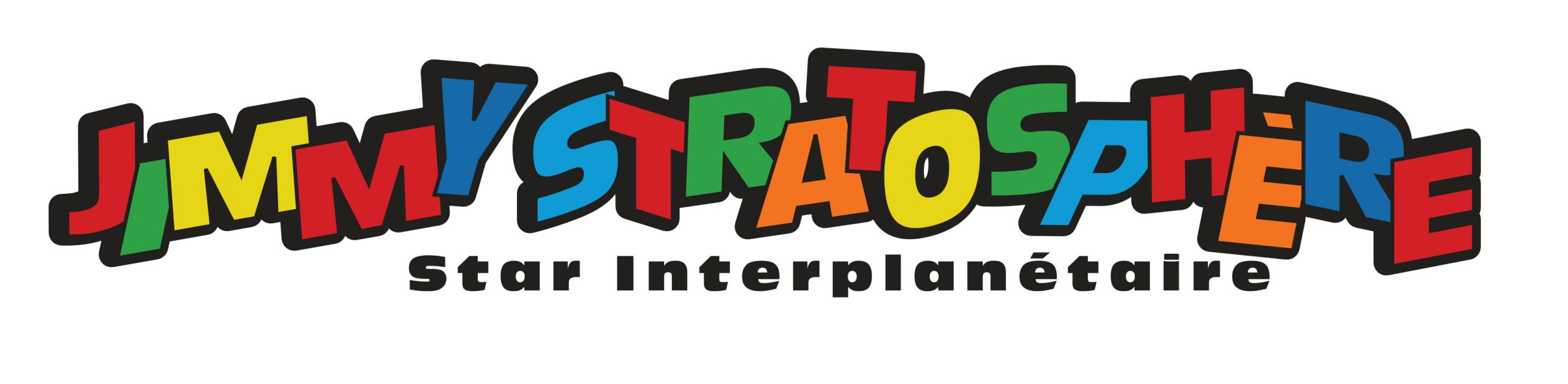 Logo Jimmy Stratosphère Star Interplanétaire